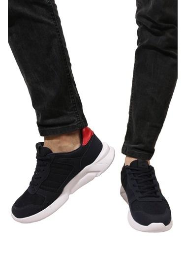 Derigo Laci Kırmızı Beyaz Erkek Spor Ayakkabı 703036 Lacivert